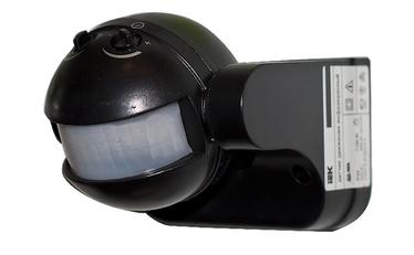 Kustības sensors 180° 1100w ip44 melns