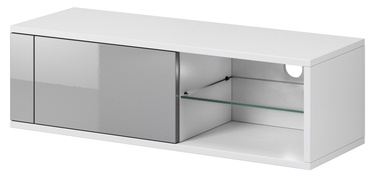 Vivaldi Meble Best TV Stand White/Grey Gloss