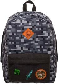 Школьный рюкзак Licenced Minecraft Camo, черный/серый