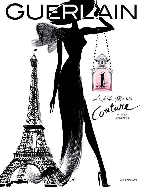 Набор для женщин Guerlain La Petite Robe Noire, 125 мл
