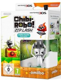 Chibi-Robo! Zip Lash Amiibo Bundle Incl. Chibi-Robo Figure 3DS