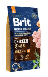 Brit Premium by Nature Adult Medium Breed Chicken 15kg