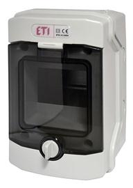 Virštinkinė automatinių jungiklių dėžutė Eti, 4 modulių