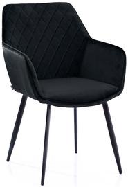 Homede Vialli Chairs 2pcs Black
