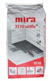 Plaadisegu Unifix Mira 3110 25kg valge