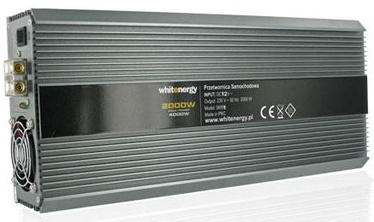 Whitenergy Receptacle Power Inverter 12V DC To 230V AC 2000W