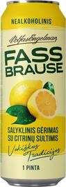 Nealkoholinis gėrimas su citrinų sultimis Fassbrause, 0,568 l