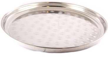 Sharada Round Serving Tray With Drawing D45cm