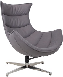 Home4you Grand Extra Armchair Dark Grey