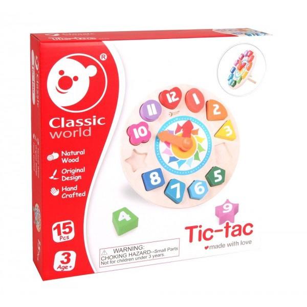 Koka pulkstenis Tic-Tac Classic World, 3655