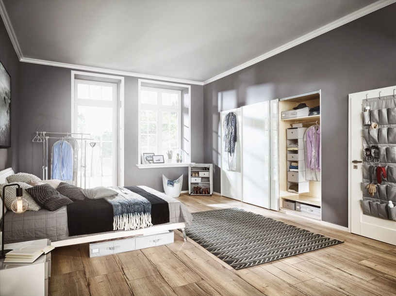 Leifheit Clothes Box Underbed Large 106x46x15cm Grey