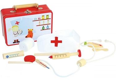 Игровой медицинский набор Woodyland Doctor Atributic Things 90847, 10 шт.