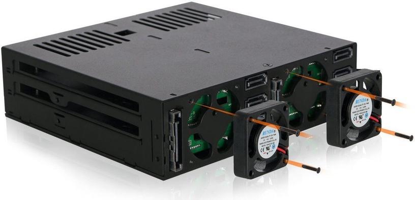 "Icy Dock ExpressCage MB326SP-B 6x2.5"" SATA"