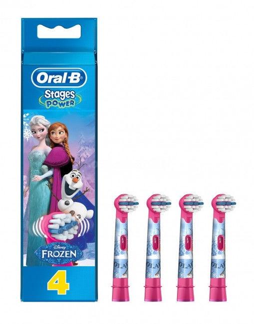 Насадка на зубную щетку Oral-B EB 10-4 Frozen