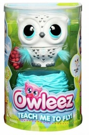Spin Master Owleez Flying Baby Owl Interactive Toy With Lights And Sounds White