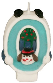 Pap Star Clown Candle Number 0
