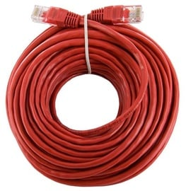 4World Cable Patch RJ45 Cat. 5e UTP 15m Red