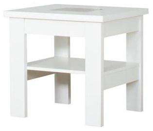 Kafijas galdiņš Bodzio S27, balta, 600x600x590 mm