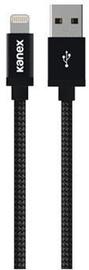 Kanex DuraBraid Lightning USB Cable Matte Black 1.2m