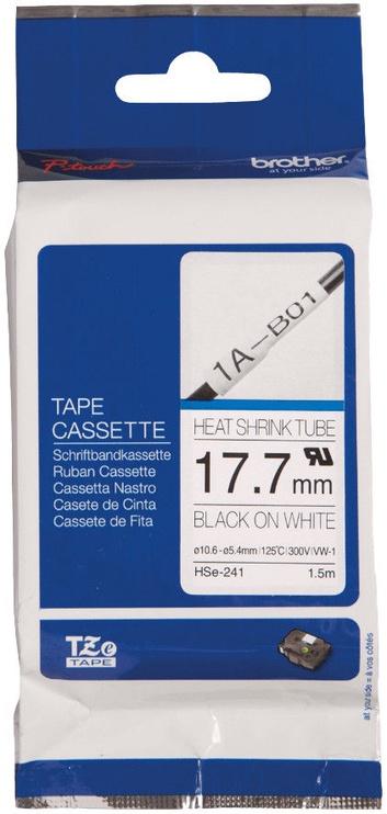 Этикет-лента для принтеров Brother HSe-241, 100 см