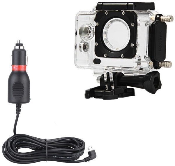 SJCam Original SJ4000 SJ4000 Wi-Fi SJ4000+ Waterproof Housing with built-in Charger