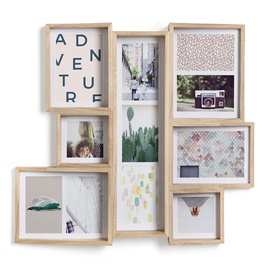 Umbra Edge Multi Photo Frame Natural