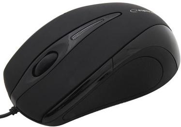 Kompiuterio pelė Esperanza Sirius EM102 Black, laidinė, optinė