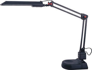 Galda lampa HD2003A 11W G23, melna