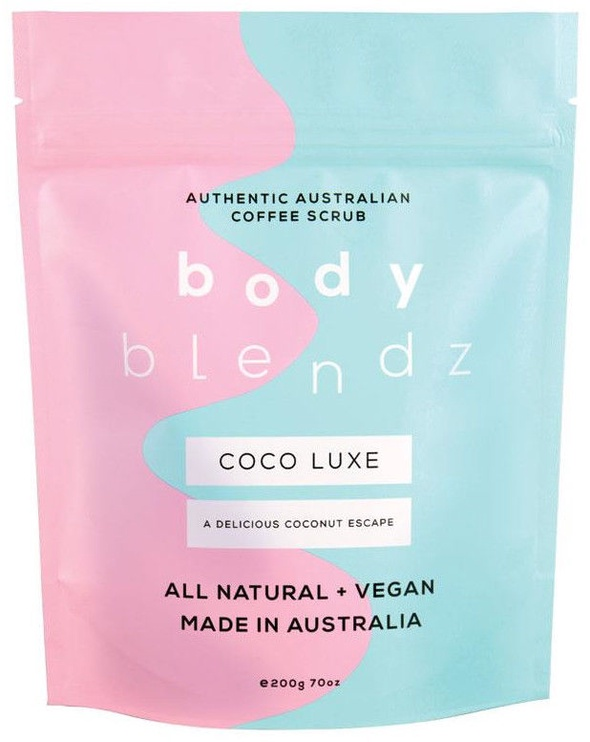 Скраб для тела Bodyblendz Coco Luxe Coffee, 200 мл
