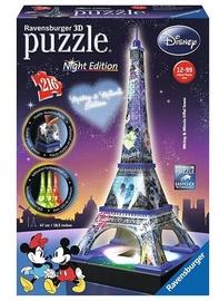 3D dėlionė Ravensburger Eiffel Tower Night Edition, 216 dalių