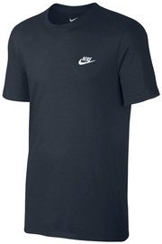 Nike Men's T-Shirt 827021 475 Dark Blue XL