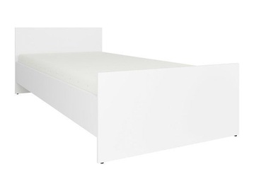 Black Red White Nepo LOZ90 Bed 90x200cm White