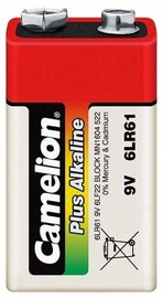 Camelion 9V/6LR61 Plus Alkaline Battery x1