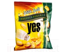 Skrudinti žemės riešutai YES su druska, 150 g