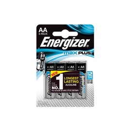 Elementai Energizer Max Plus AA/LR06, 4 vnt.