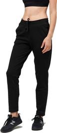 Audimas Womens Soft Touch Modal Sweatpants Black 160/S