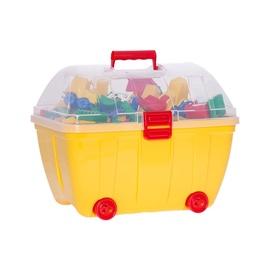 Kaladėlės su dėže, plastikinės