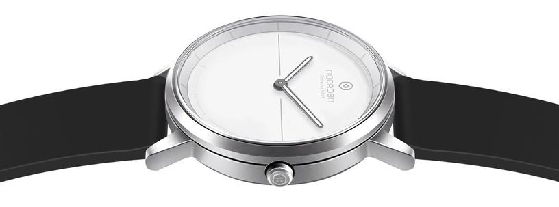 Išmanusis laikrodis Noerden Mate2, balta/juoda