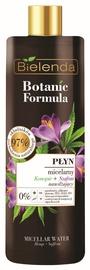 Makiažo valiklis Bielenda Botanic Formula Hemp Oil + Saffron Face Micellar Water, 500 ml