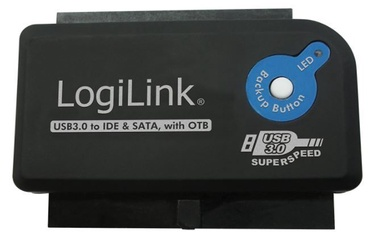 LogiLink Adapter USB 3.0 / SATA Black