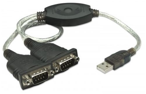 Manhattan Adapter USB to RS232 x2