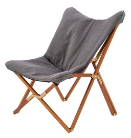 Halmar Volant Folding Leisure Chair Grey