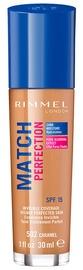 Rimmel London Match Perfection Foundation SPF20 30ml 502