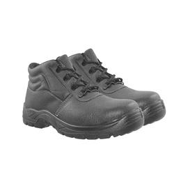 Vyriški pašiltinti darbiniai batai, be aulo, juodi, 47 dydis