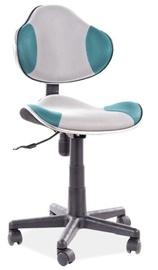 Офисный стул Signal Meble Q-G2, голубой