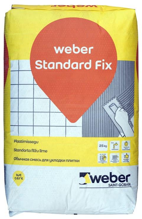 Weber Standart Fix, 25 kg
