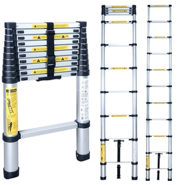 HausHalt BL-T380 12-Steps Telescopic Ladders
