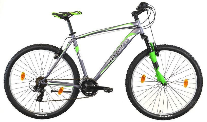 "Dviratis Bottari Good Bike Portland 77209 46cm 27.5"" Green"