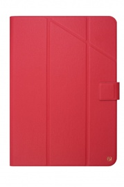 Fold universal case for 9-11in red