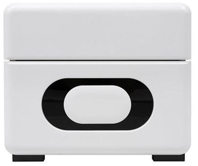 Black Red White Byron Night Stand